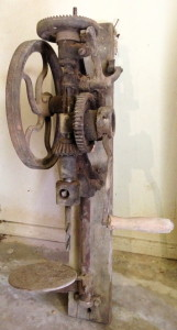 Old manual operated Drill Press.