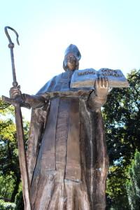 St. Paulinus statue.