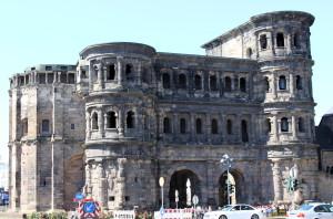 Front view of Porta Nigra.