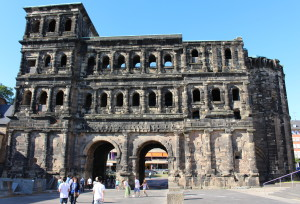 Rear view of the Porta Nigra.