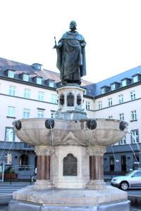 Baldwin (A.K.A. Baldvin or Balduin) statue.